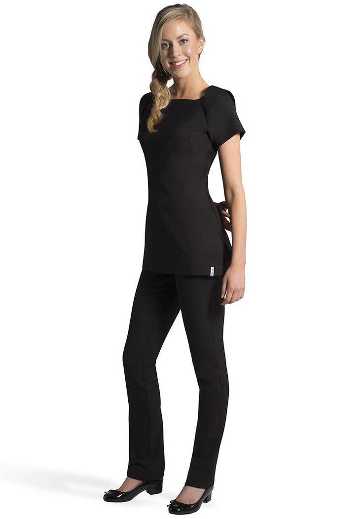 Florence roby beauty uniforms beauty tunics salon wear for Unifor spa