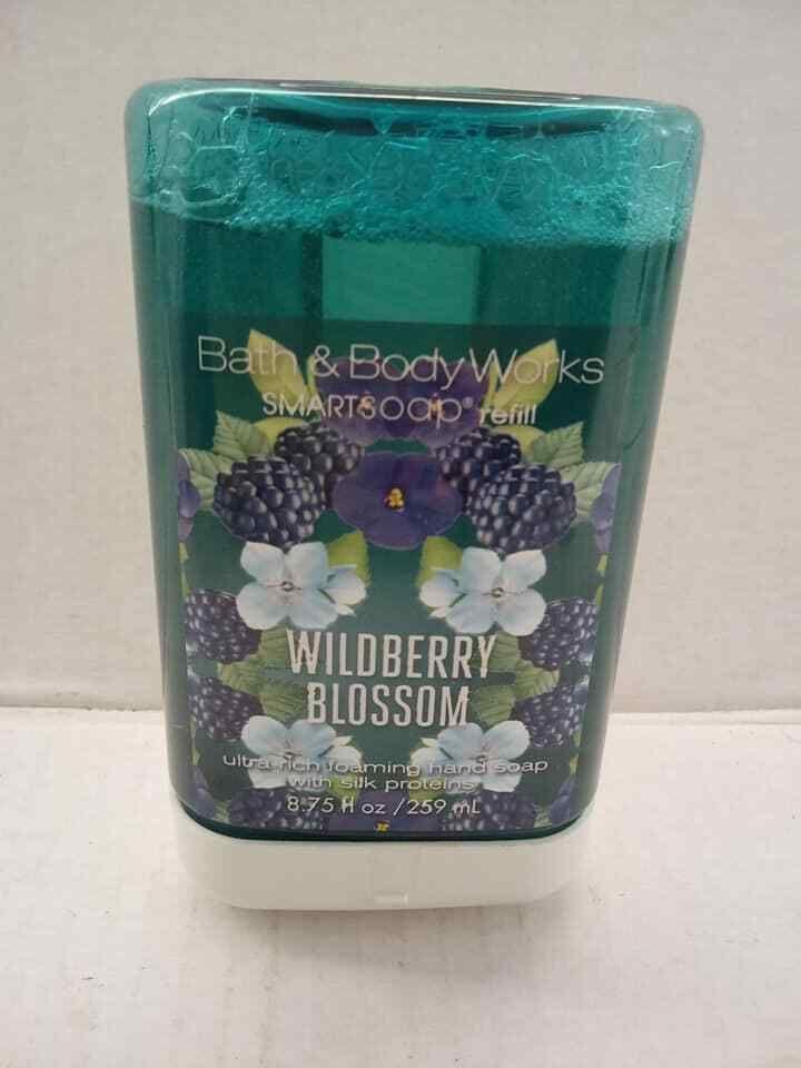 Bath Body Works Smart Soap Wildberry Blossom Refill New Foaming Hand Soap Bathbodyworks Bath And Body Works Bath And Body Foaming Hand Soap
