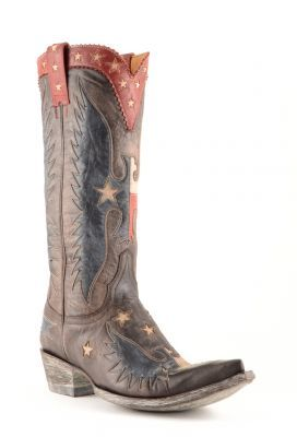 Womens Old Gringo Where Eagles Fly Cowboy Boots Chocolate #L1428-3 #allensboots