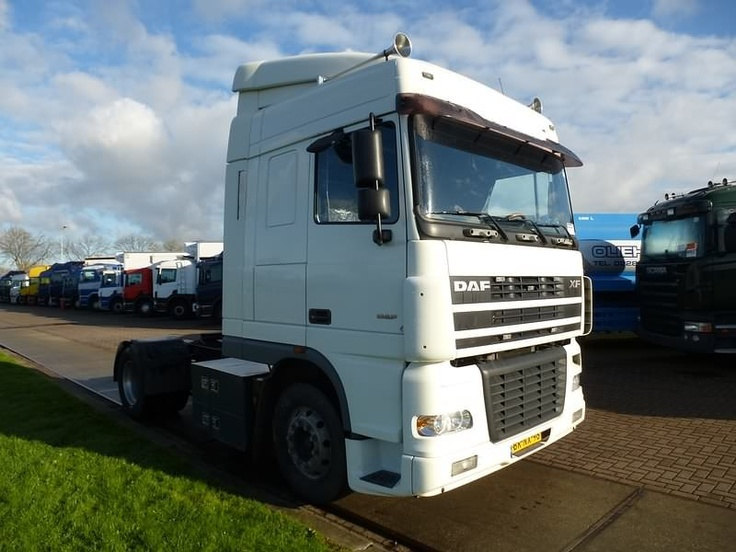 For sale: Used and second hand - Tractor unit DAF XF 95.480 SC ALCOA