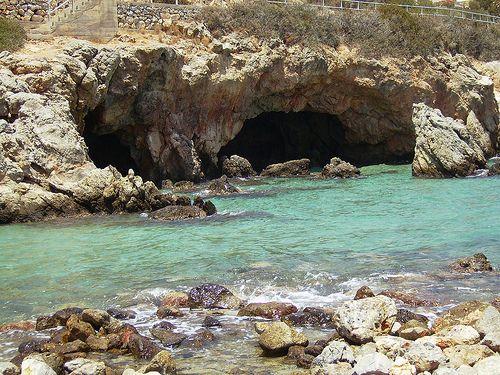 Small beach before Almyros, Agios Nikolaos
