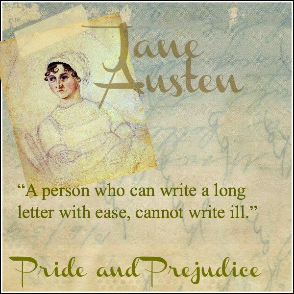 the letters in pride and prejudice The significance of letters in pride and prejudice the significance of letters in pride and prejudice your essay should have three parts: an introductory.
