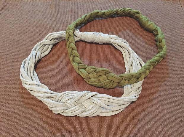 編み物ができなくても Ok 三つ編みやヒモの結び方で作る Tシャツ