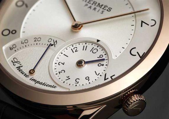 Slim d'Hermès L'heure impatiente: Time in emotion