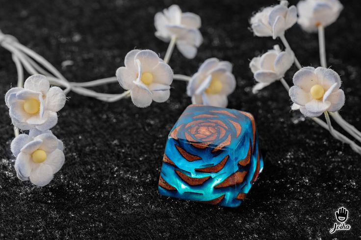 Jelly Key - Keycap Rose Stone  Bộ ảnh chụp keycap Rose Stone của Jelly Key.