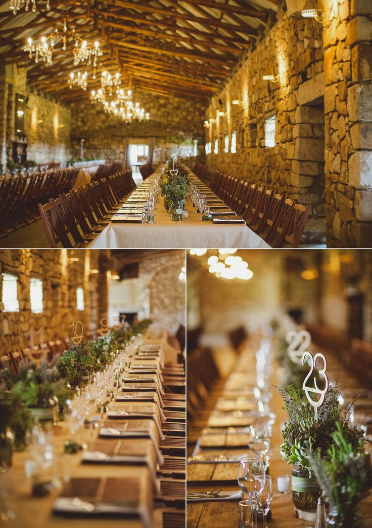 Long tables always make for such a rad festive vibe! | Stefan & Nadine's Wedding @ Florence Guest Farm, South Africa || www.kikitography.com