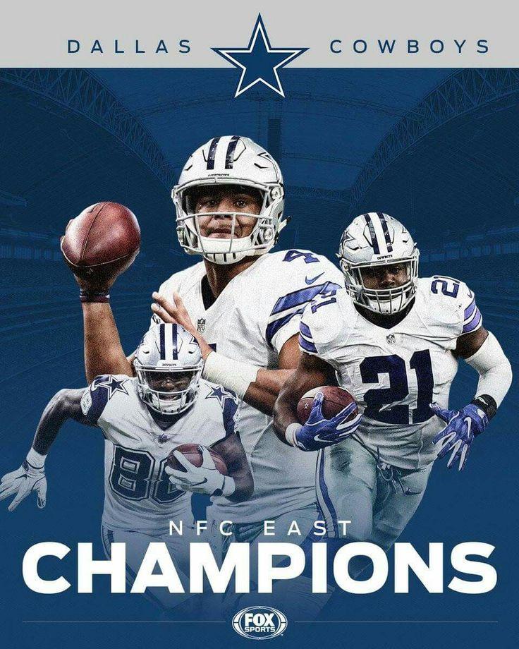 2016 NFC East Champions. Dallas Cowboys #Dallas #Cowboys #DallasCowboys
