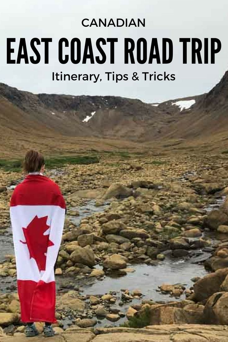 We headed to Eastern Canada to spend Canada's 150th in the Maritimes. Here is our East Coast road trip itinerary & tips and tricks we learned along the way!