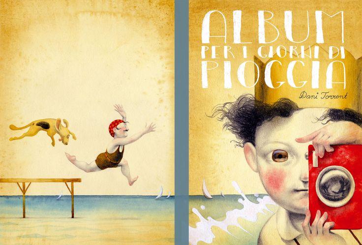 front and back cover. Album per i giorni di pioggia. Dani Torrent