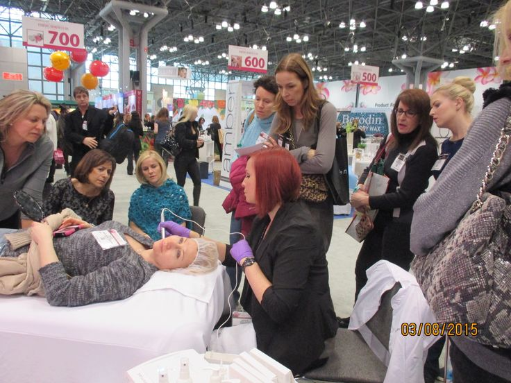 Crystal at the #IECSC New York Esthetics Show, March 8-10.
