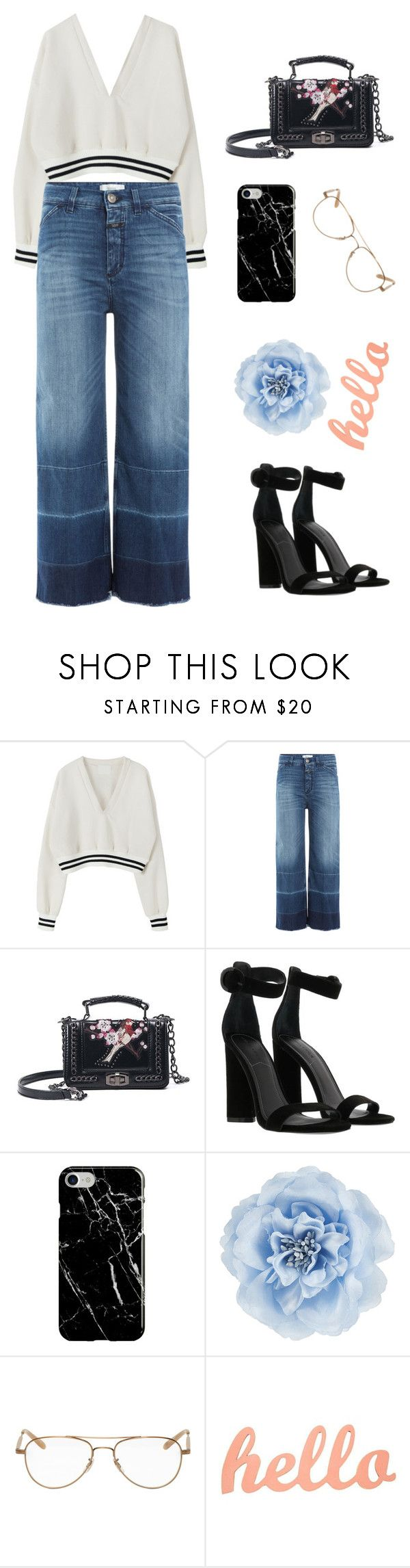 """""""College Student Style"""" by jz20 ❤ liked on Polyvore featuring Closed, Kendall + Kylie, Recover, Monsoon and Garrett Leight"""