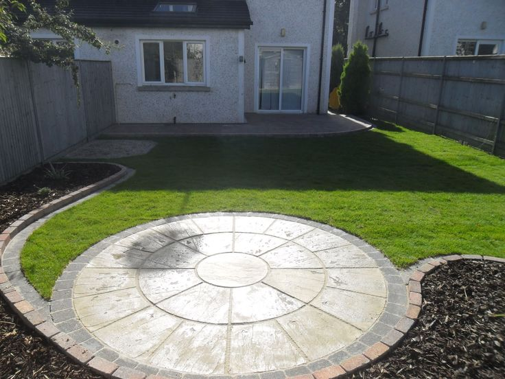 Patio Areas | Circular Patio And Raised Patio, Garden Design, Roschoill  ,Drogheda Co ... | Tiznit | Pinterest | Circular Patio, Gardens And Garden  Ideas Part 35