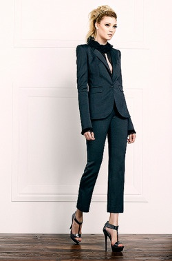 See all the runway and model photos from the Rachel Zoe Pre-Fall 2012  collection.