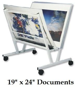 """Floor Poster Display (19"""" x 24"""") Includes: 15 Poster Sleeves"""