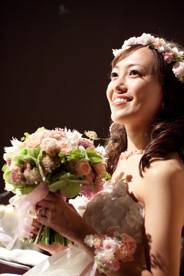新郎新婦様からのメール 灯 マンダリンオリエンタル東京様へ : 一会 ウエディングの花