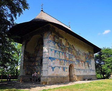 Arbore Painted Monastery