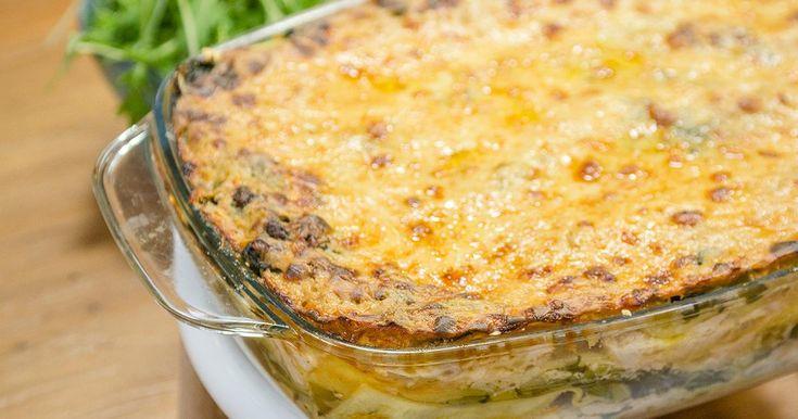 Op grootmoeders wijze met Bart De Pauw: Lasagne met kip prei spinazie en raapsteeltjes