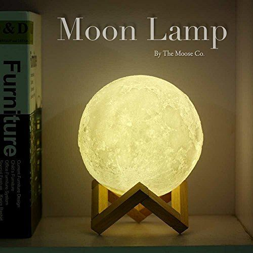 Moon Lamp By The Moose Company With Images Led Night Lamp Lamp Moon Light Lamp