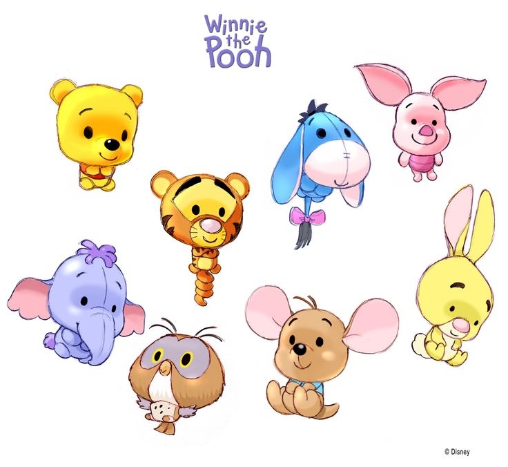 Winnie the pooh and friends cartoon hd image for ipod cartoons friends in 2019 chibi - Winnie the pooh and friends wallpaper ...