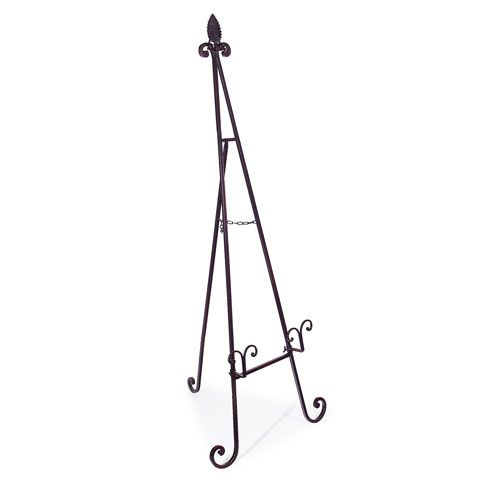 Black Floor Easel