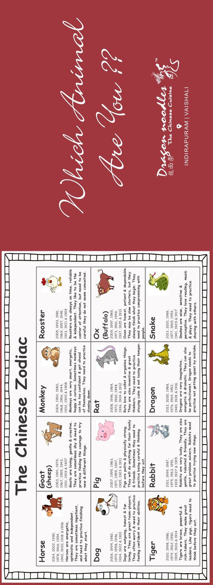 25+ best ideas about Calendrier chinois naissance on Pinterest ...