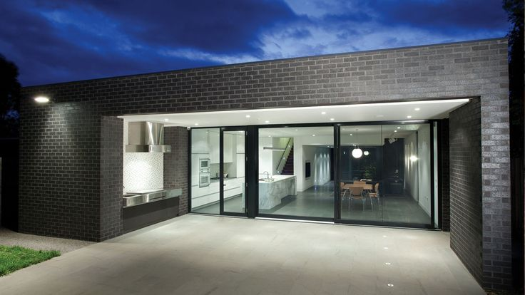 Austral Bricks Elements in Zinc used on Moonee Ponds Residence by Designplace