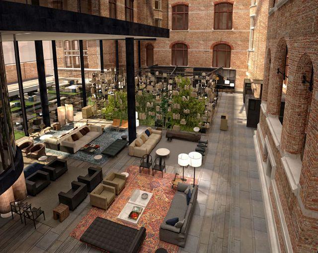 Conservatorium Hotel in Amsterdam    The design of this place is quite praise worthy.