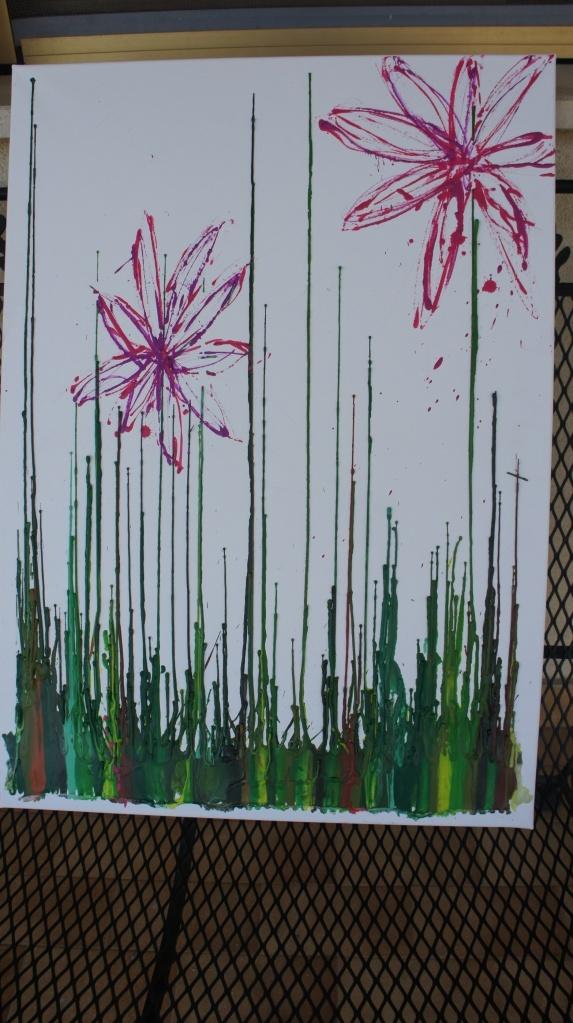 The 25 best crayon art tutorials ideas on pinterest for Melted crayon art techniques