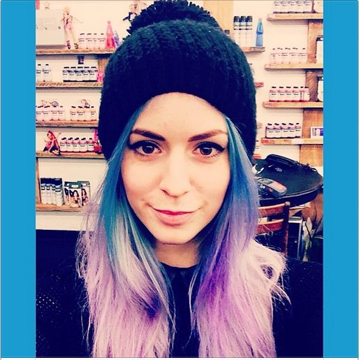 8 Best Images About Hair On Pinterest Pastel Purple Hair Blue Tips And Aquamarines