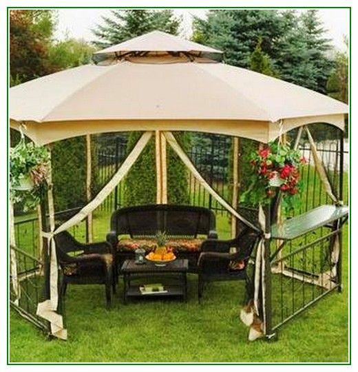 Awesome Gazebo Canopy Replacement Covers 10×12