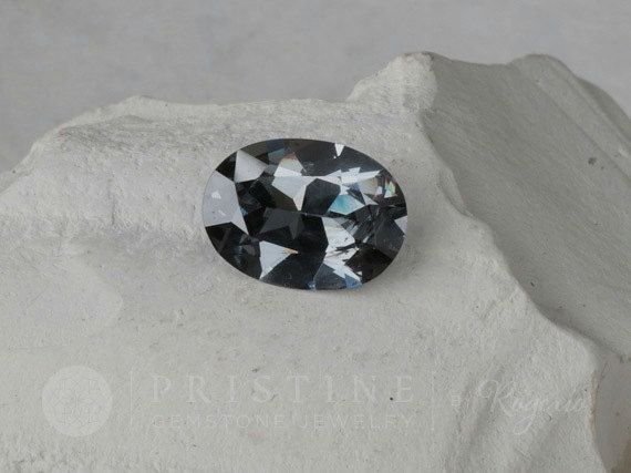 Bluish purple spinel Oval Over 4 Carats Fine by PristineGemstones