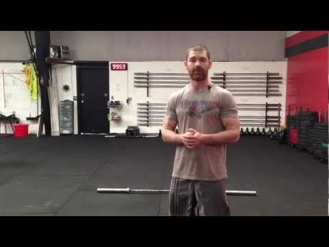 CrossFit Thruster - Northstate CrossFit - YouTube