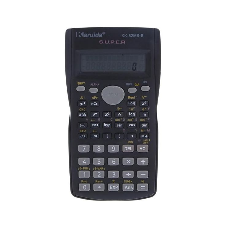 New Function Calculator 82MS-A Handheld Multi-function 2-Line Display Digital LCD Scientific Calculator Wholesale TOP Quality