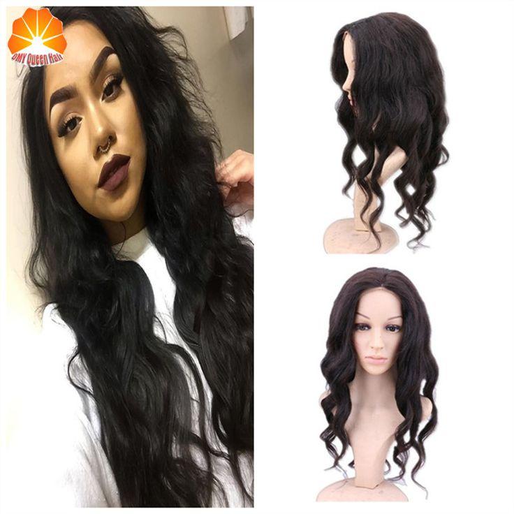 Peruvian Virgin Human Hair Full Lace Human Hair Wigs Loose Wave Best Lace Front Wig Black Women Full 130%Density