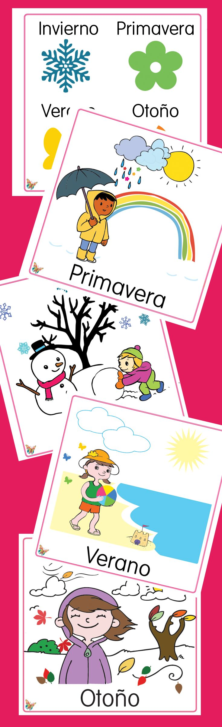 Spanish teachers! Classroom posters giveaway. Decorate your classroom with this cute posters.  blog@monarcalanguage.com
