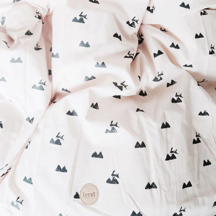 ferm LIVING Rose Rabbit bedding - available in three sizes: http://www.fermliving.com/webshop/shop/kids-room/kids-textiles/rose-rabbit-bedding-adult.aspx