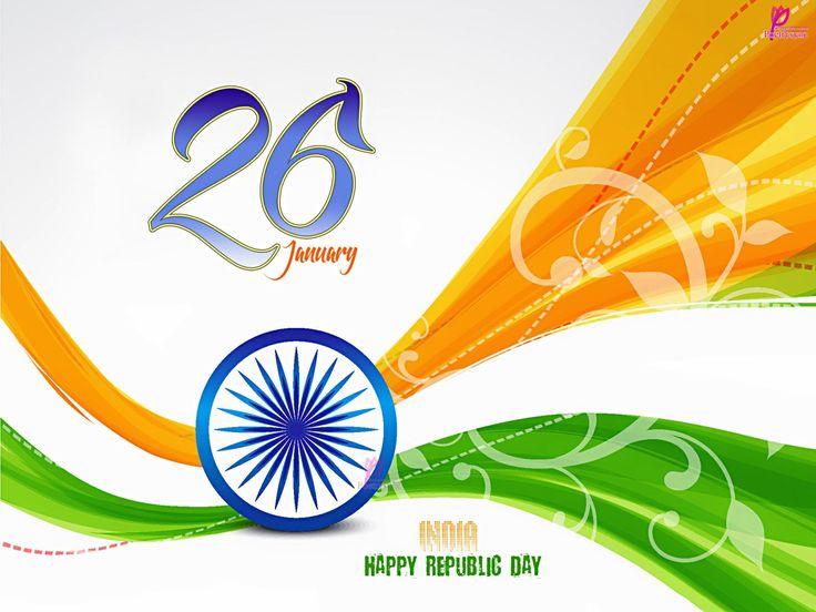 26 January India Happy Republic Day