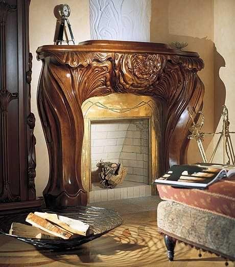 Interior design style modern art nouveau decor 2 for Art nouveau interior design bedroom