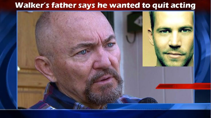 Paul Walker's Father speaks Out - Paul Wanted Out! ~ In a newly released interview with the father of slain actor Paul Walker, we learn that he wanted to get out of acting….is that why Paul Walker was murdered? We know that with many 'secret societies', there is only one way out,
