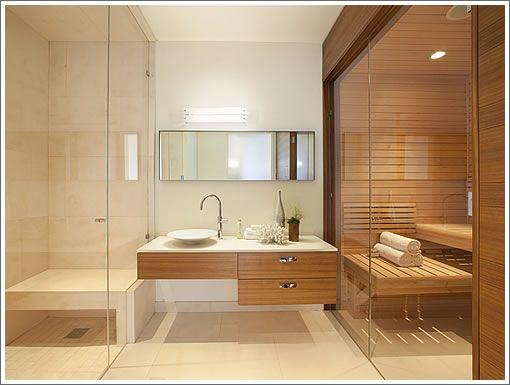 Love it!!!! Steam and sauna combination