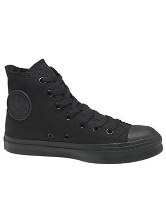 Converse Shoes, Monochrome Chuck Taylor Hi Tops from Finish Line - Shoes - Men - Macy's