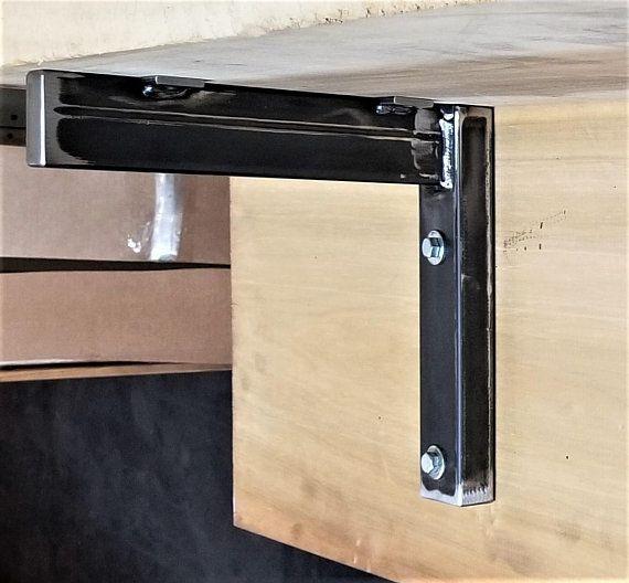 26 To 30 Inches Long Super Heavy Duty Industrial Bracket Metal Tubing Bracket Shelf Bracket Industrial Brackets Bracket Heavy Duty