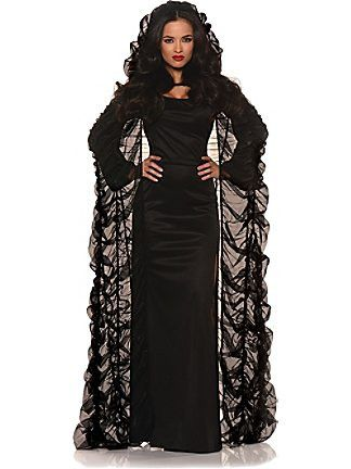 Chiffon Coffin Cape