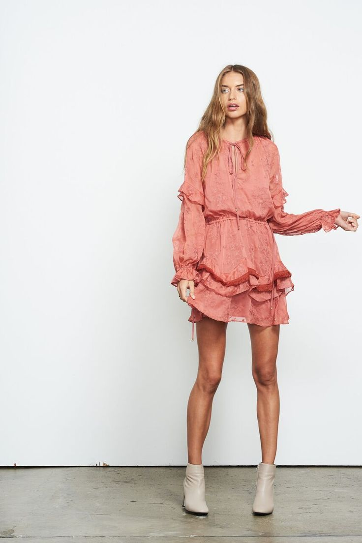 Stevie May - The Triumph L/S Mini Dress