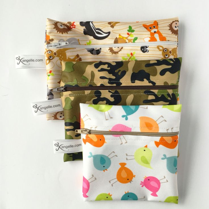 Reusable Baggies in Small - $4, Medium - $4.50 and Large - $5