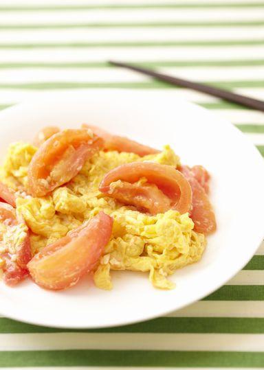 トマトと卵の中華炒め のレシピ・作り方 │ABCクッキングスタジオのレシピ | 料理教室・スクールならABCクッキングスタジオ