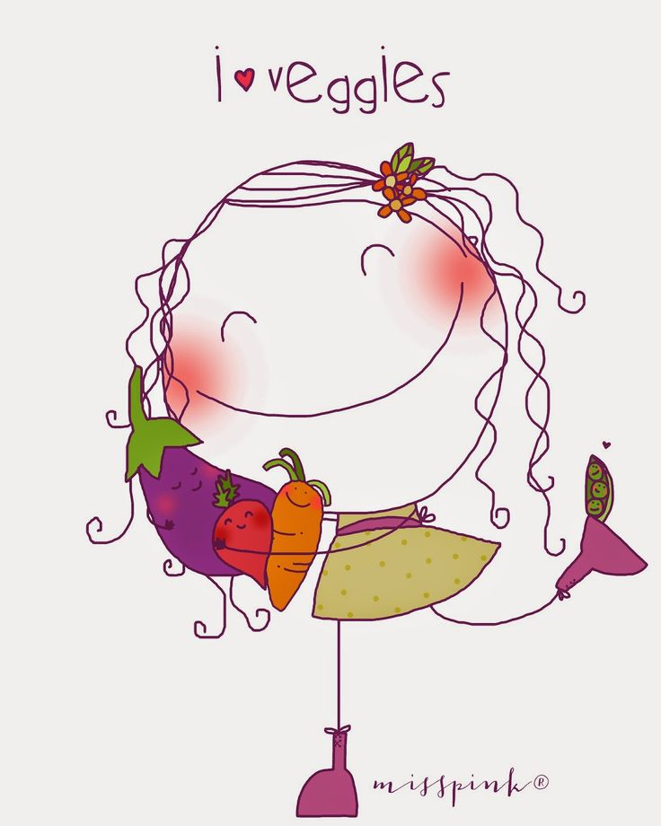 I ♥ veggies, by misspink®