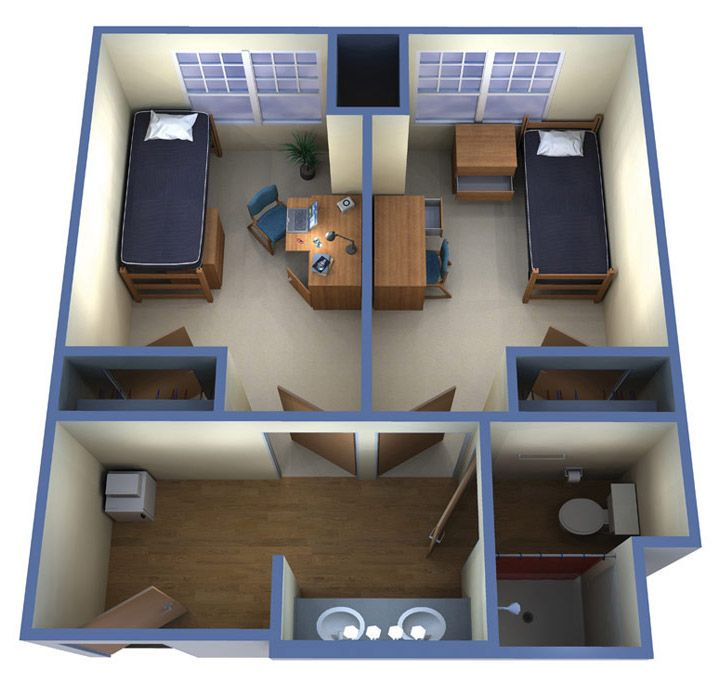 Housing & Residence Life: Windward Commons Floor Plans | Armstrong, a Georgia University