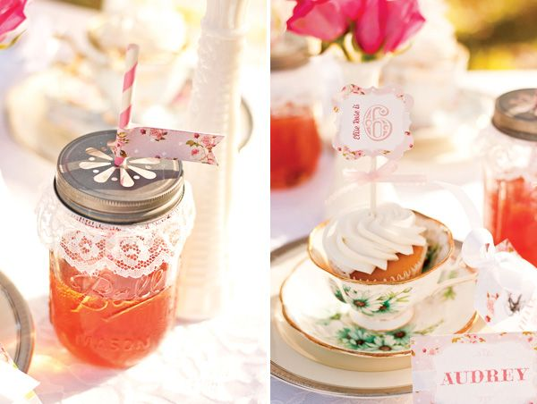 {Teacups & Tutus} Delightful Girls Tea Party