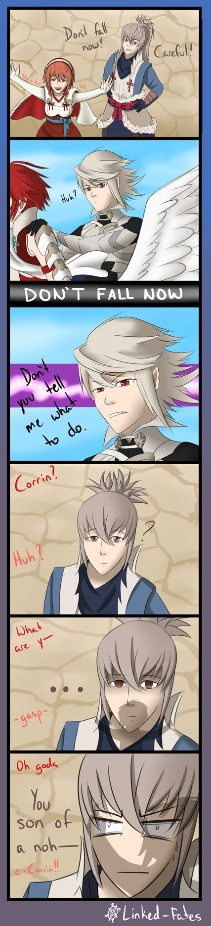Don't fall now, Corrin by Linked-Fates.deviantart.com on @DeviantArt